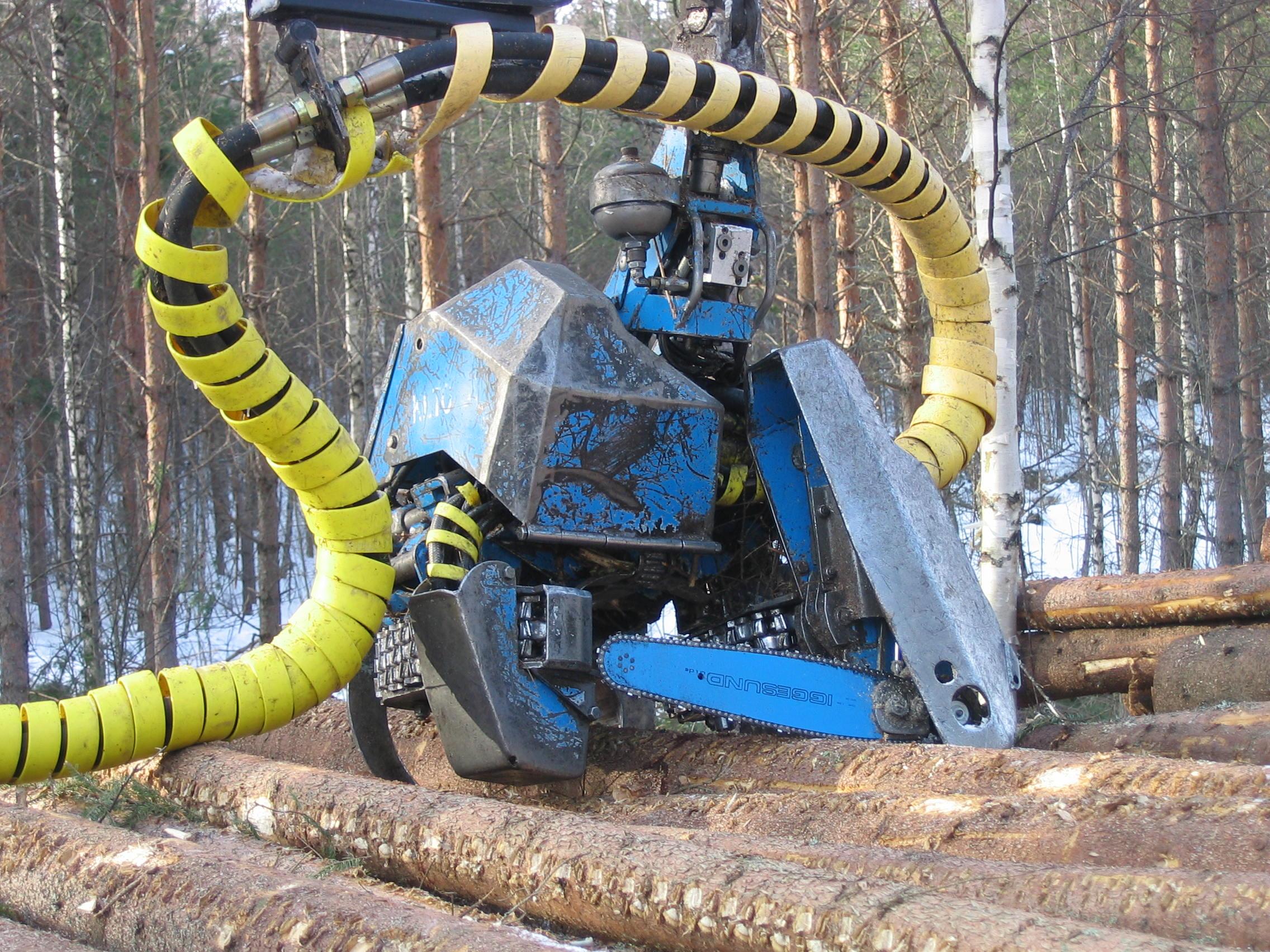 forest cutter machine