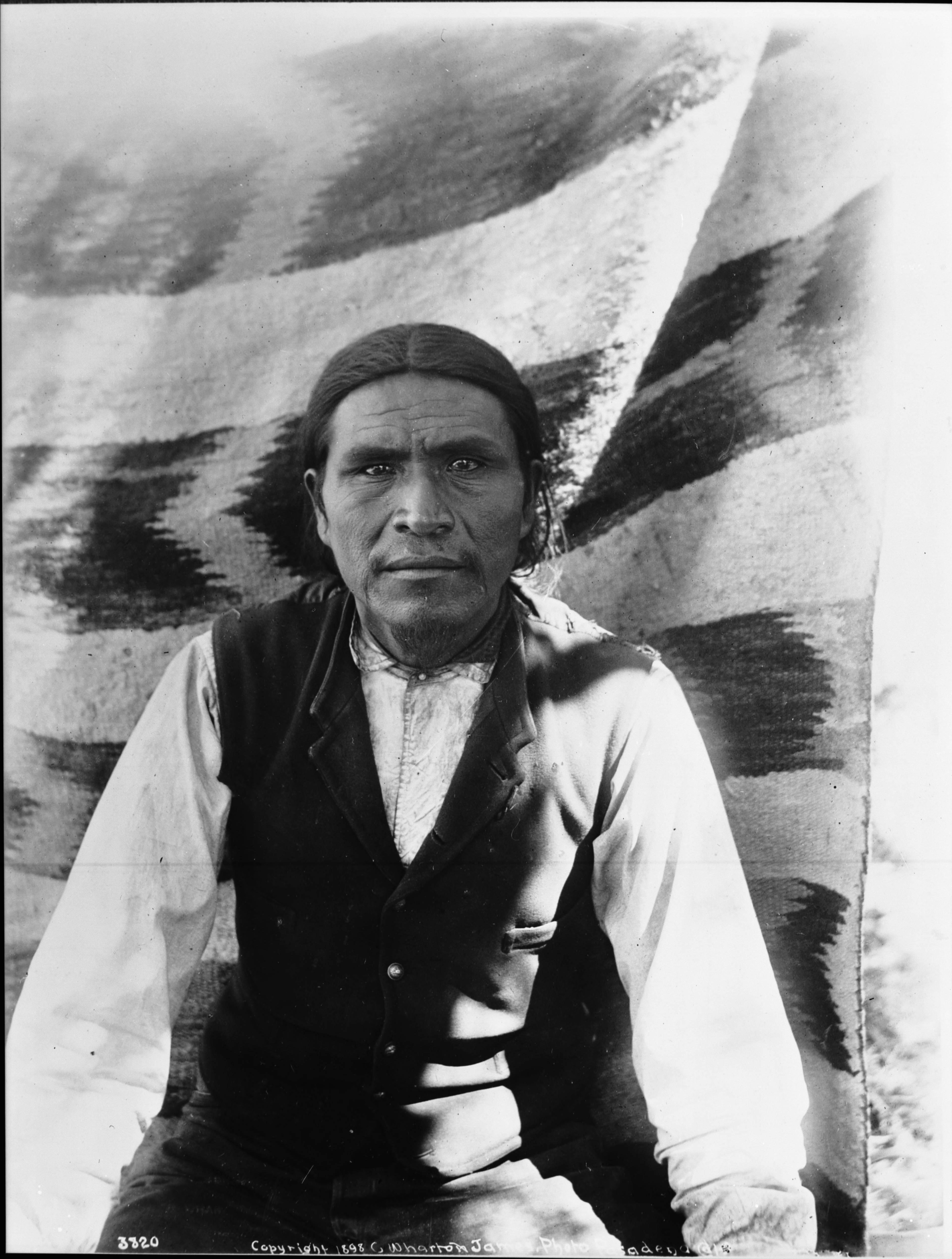 File Havasupai Indian Man Vesna A Tribal Leader Ca 1899