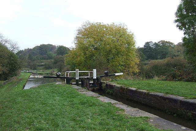 Hazelhurst Locks, Caldon Canal, Staffordshire - geograph.org.uk - 596389