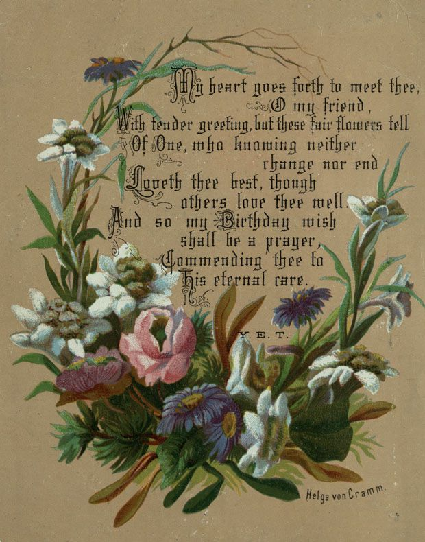 File Helga Von Cramm Chromolithograph Birthday Wish Card Amp Verse Prayer By Y E T Jpg
