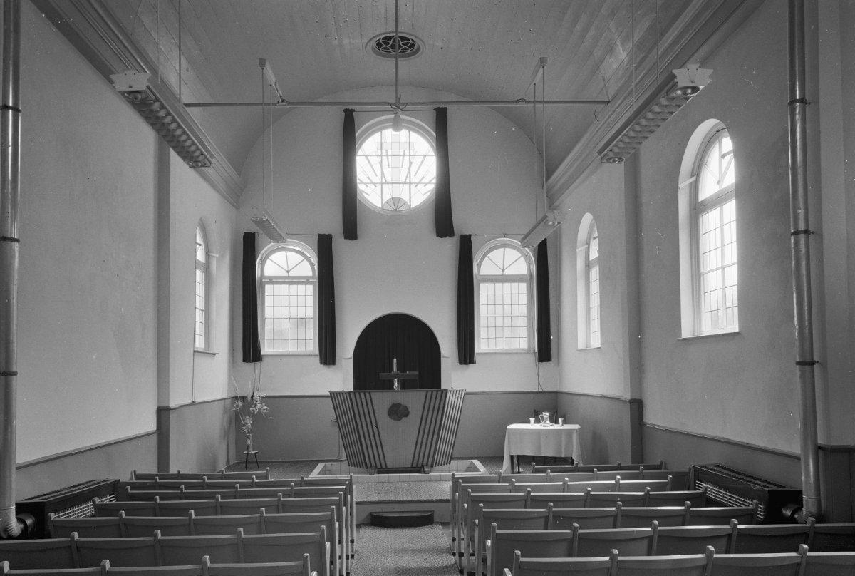 Bestand het interieur van de voormalige synagoge te - Makers van het interieur ...