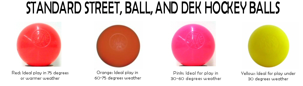 Ball Hockey Balls