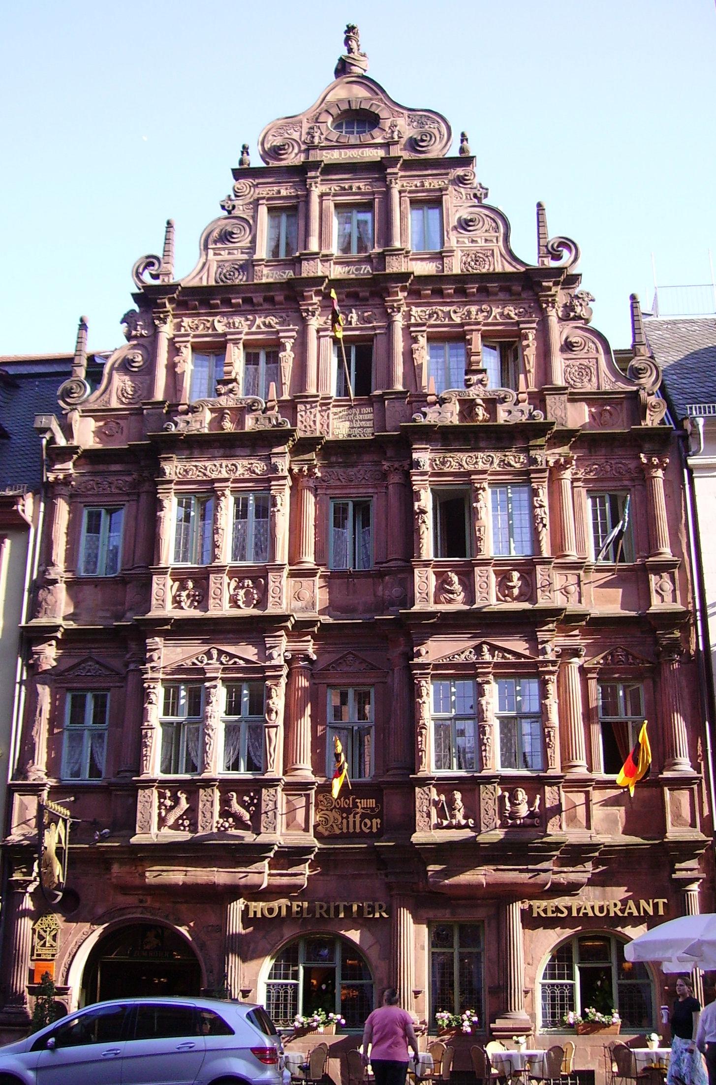 File Hotel Zum Ritter In Heidelberg Jpg