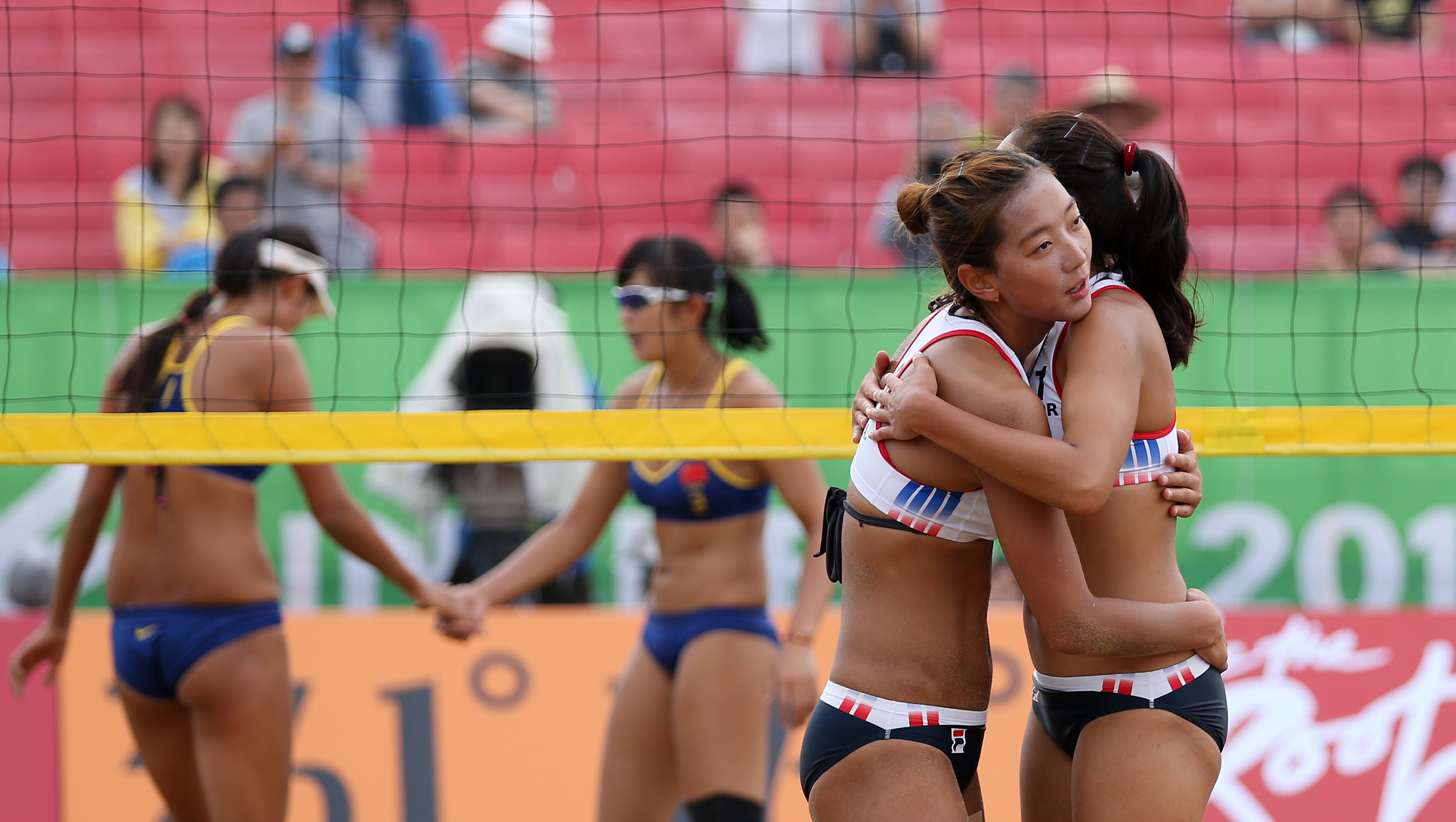 Volleyball nude girls anal beach