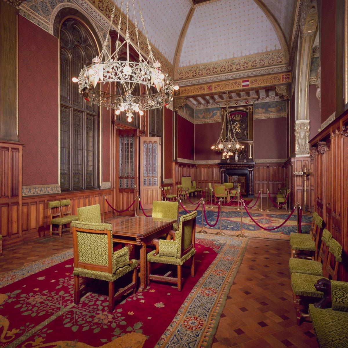 File interieur bel etage voorzijde rechts vestibule van for Kamer interieur