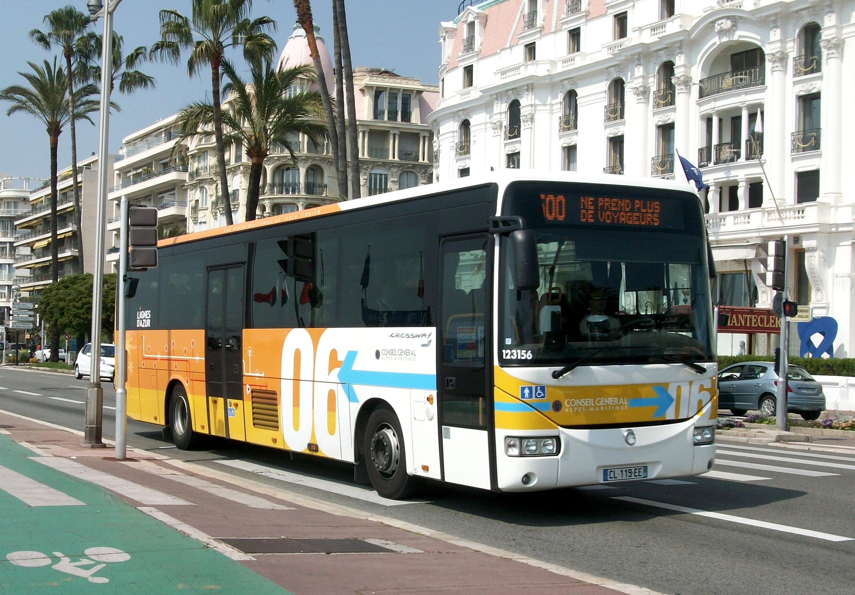file irisbus crossway lignes d 39 azur nice jpg wikimedia commons. Black Bedroom Furniture Sets. Home Design Ideas