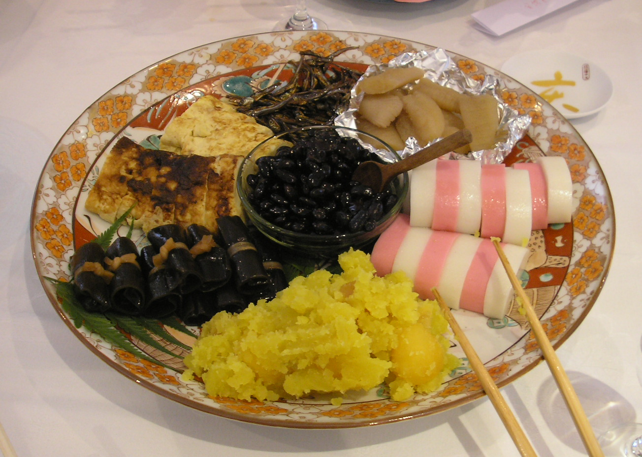 Traditional Japanese New Year Food