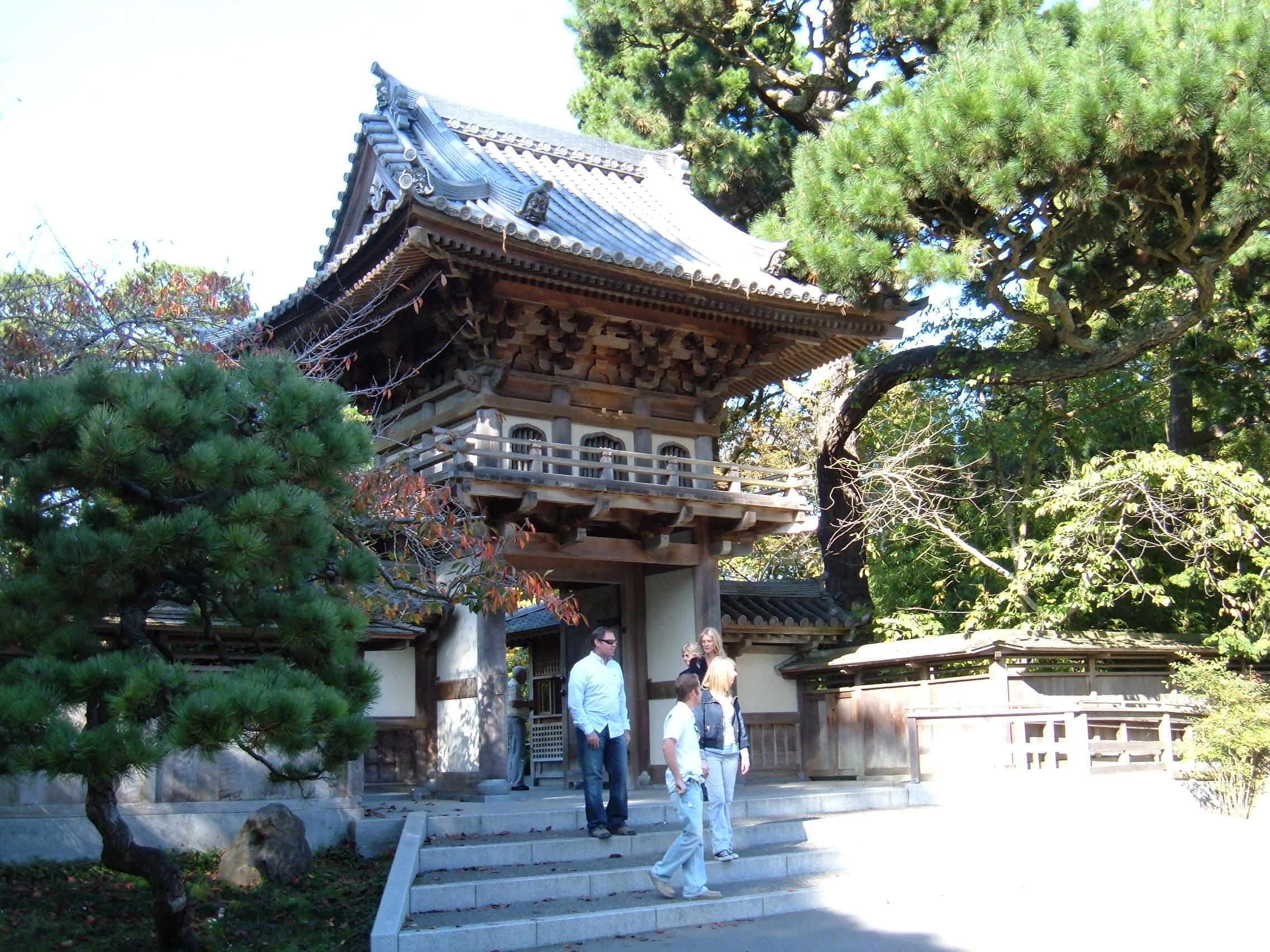 filejapanese tea garden sf main entrance 2jpg - Japanese Garden San Francisco