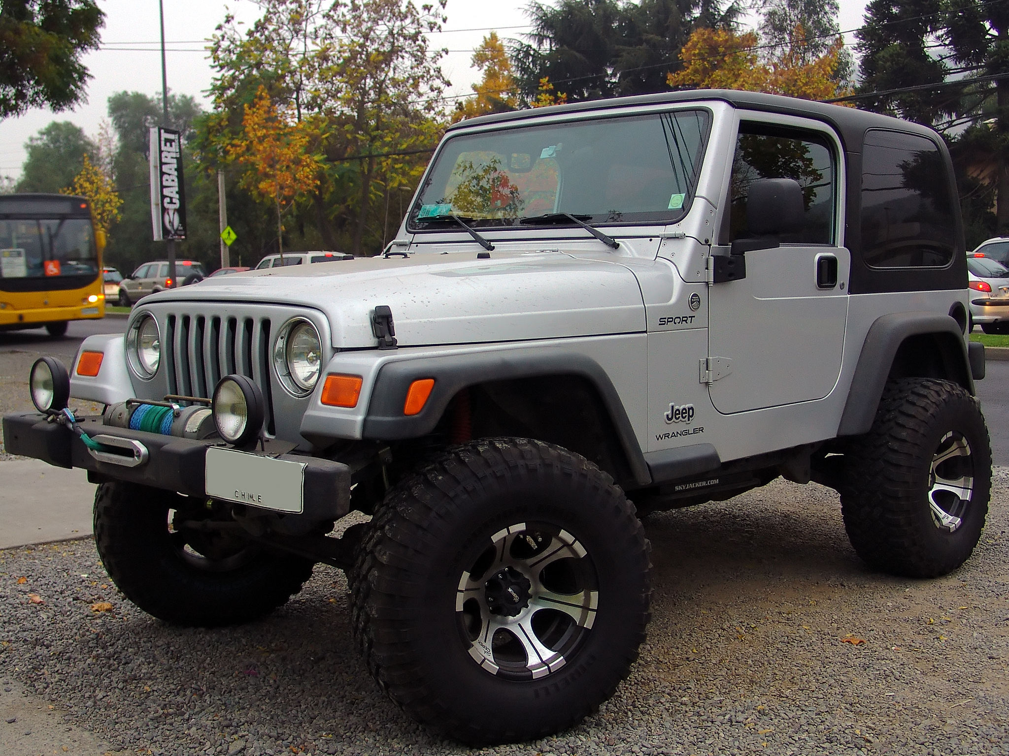 Nice File:Jeep Wrangler Sport 4.0 Trail Rated 2006 (14229095163)