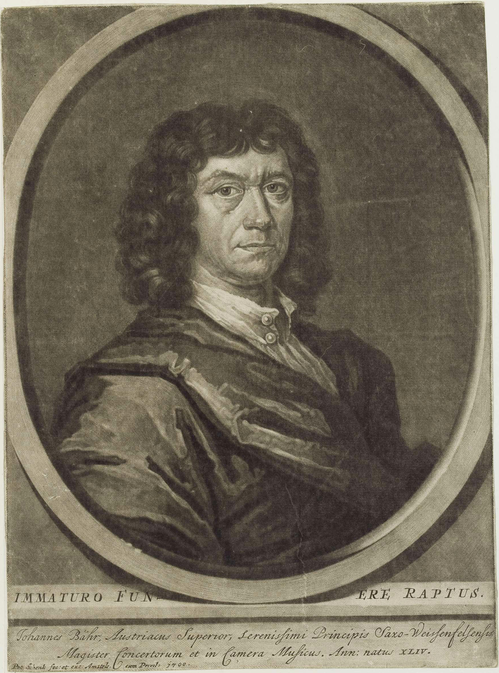 Johann Beer by[[Peter Schenk the Elder