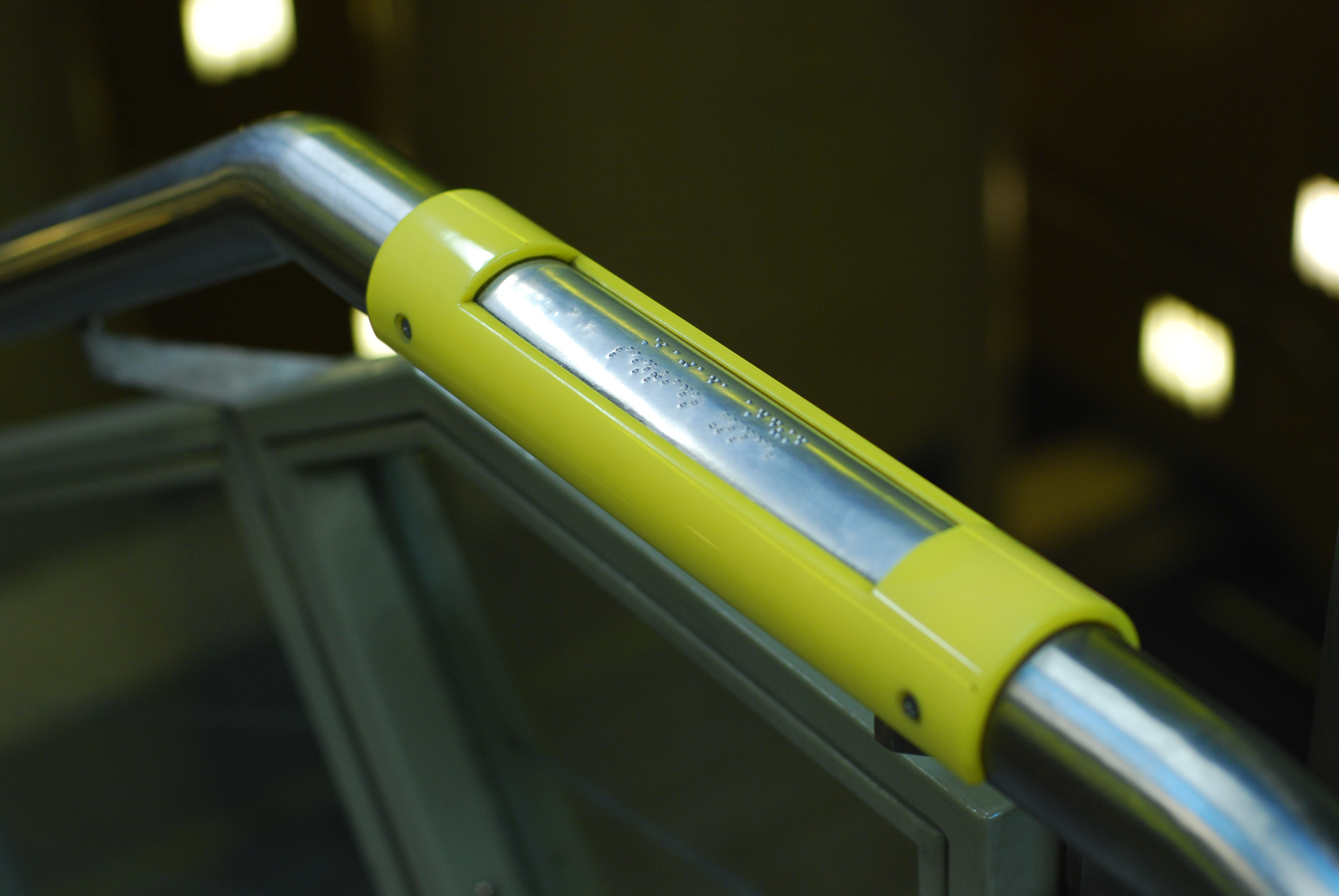filelnea h sealizacin para no videntes en los pasamanos de las escaleras en