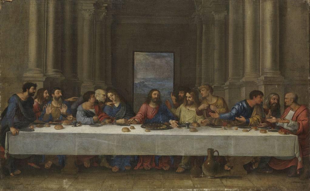 Abendmahl Von Leonardo Da Vinci