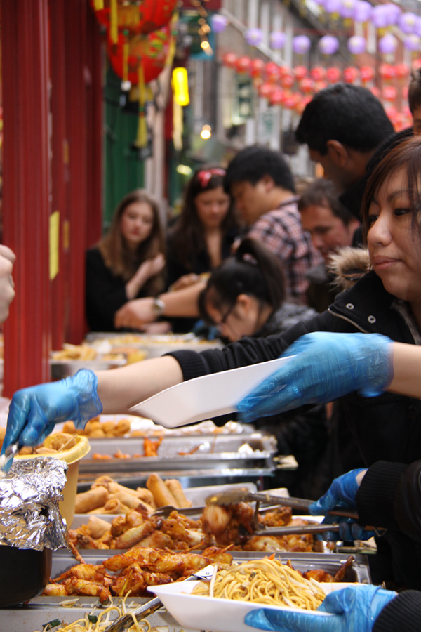 Chinese New Year London Food Stalls