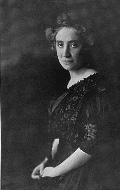 Louise Forsslund circa 1909