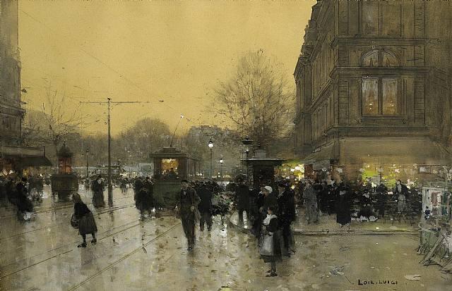 Luigi Loir - Une place à Paris