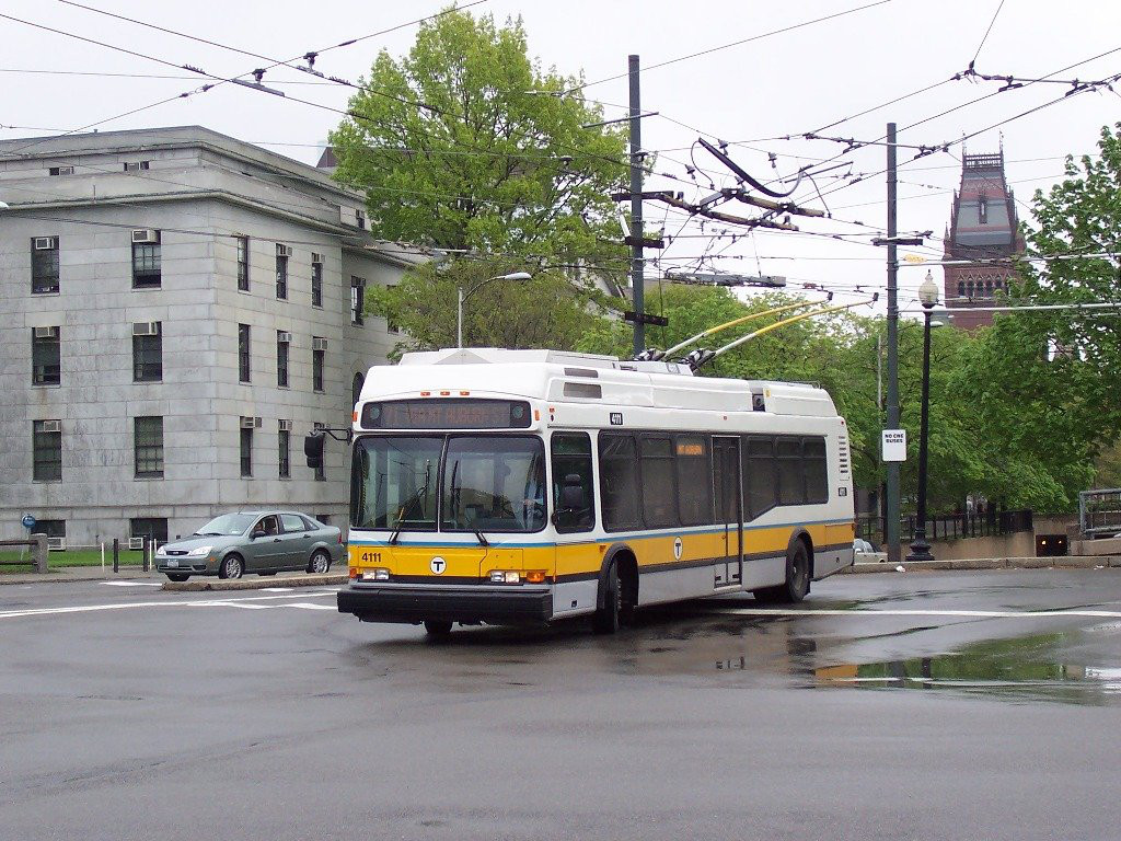 Trolleybuses in Greater Boston