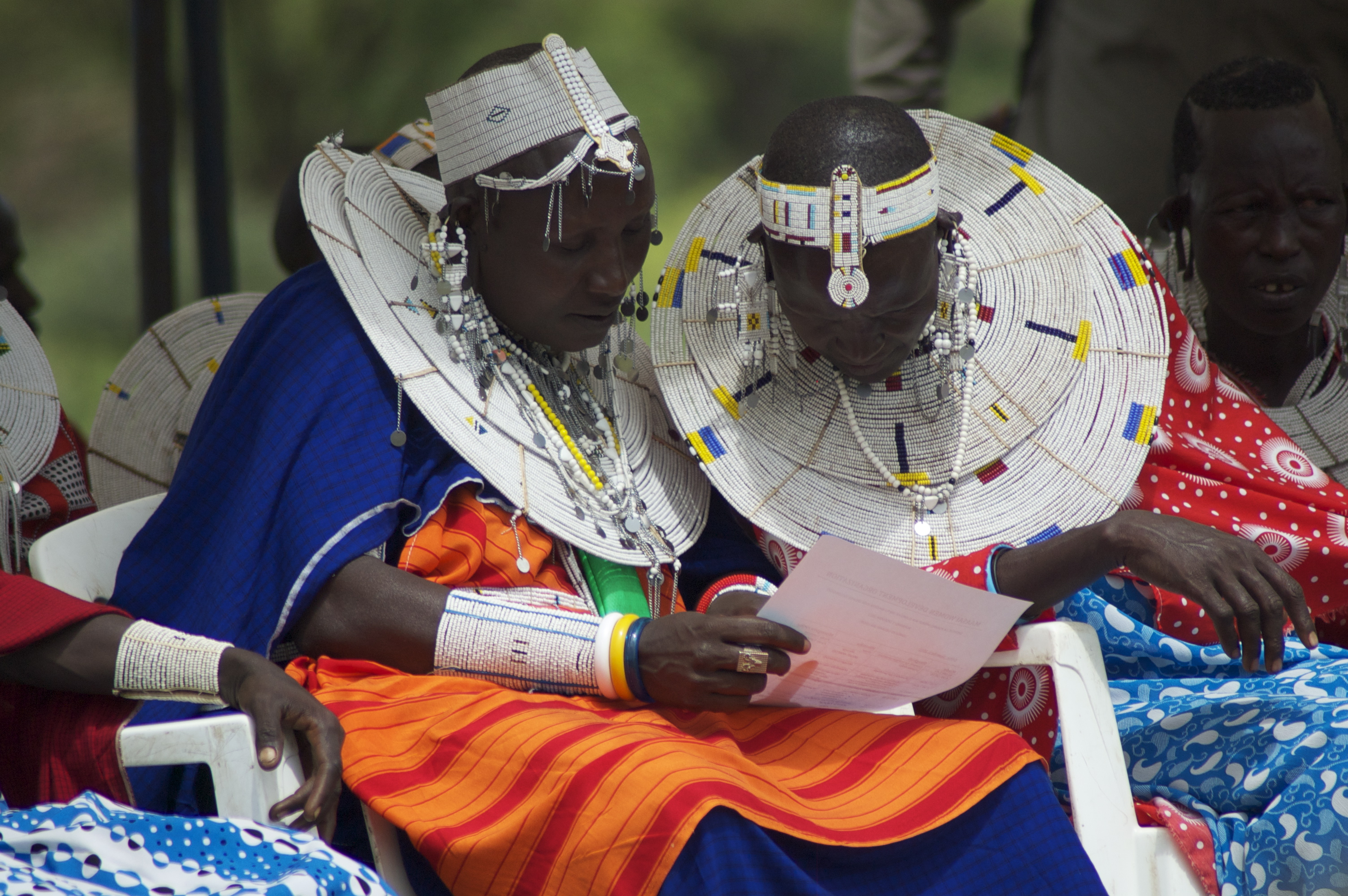 5 maasai women Marriage in maasai culture is one of our most important traditional activities  if it  is an arrangement between friends it may be 4 or 5 cows, or it may be  western  women have a lot of opinions on doweries and bride prices,.