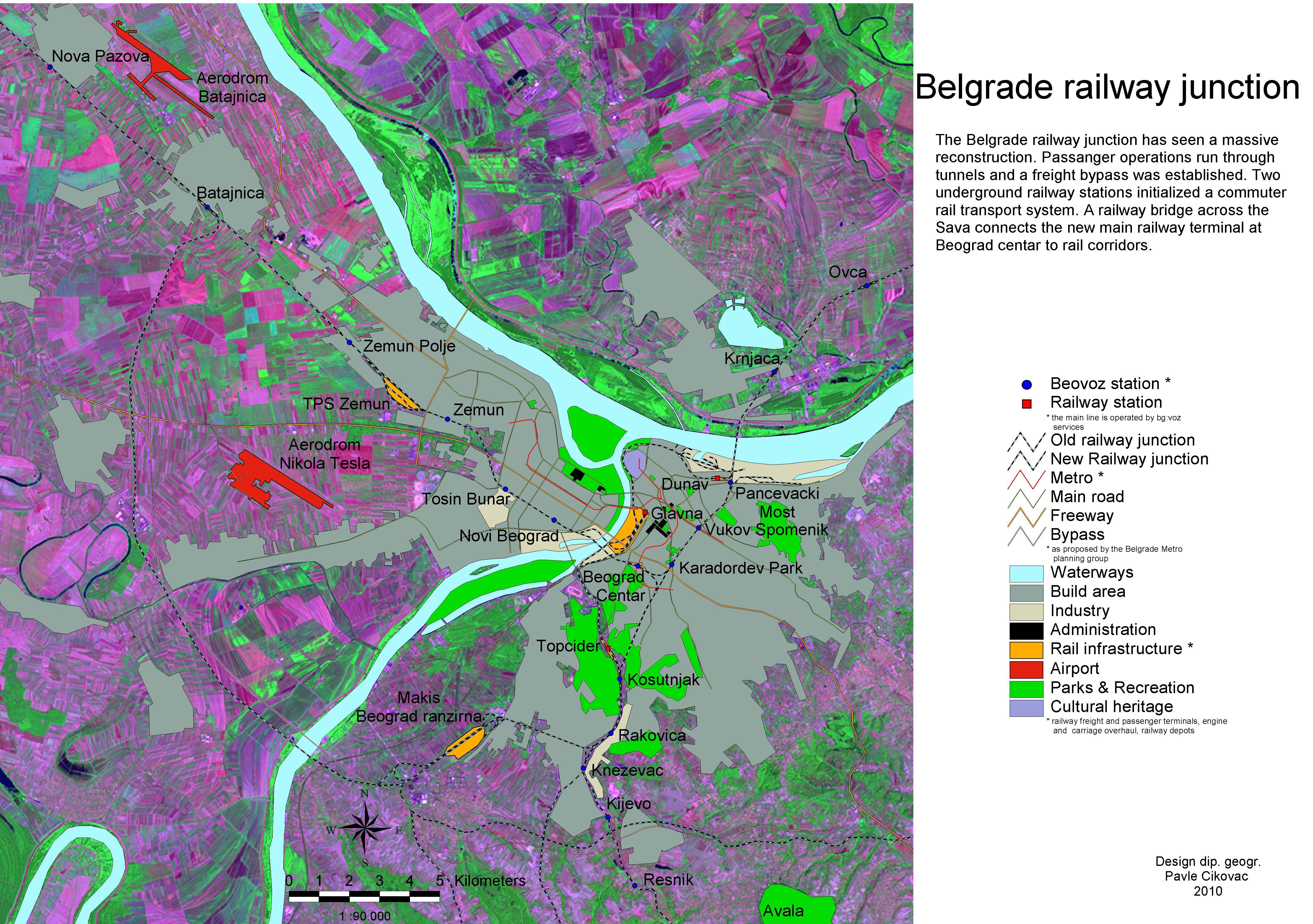 File Map Belgrade Transportation Jpg Wikimedia Commons