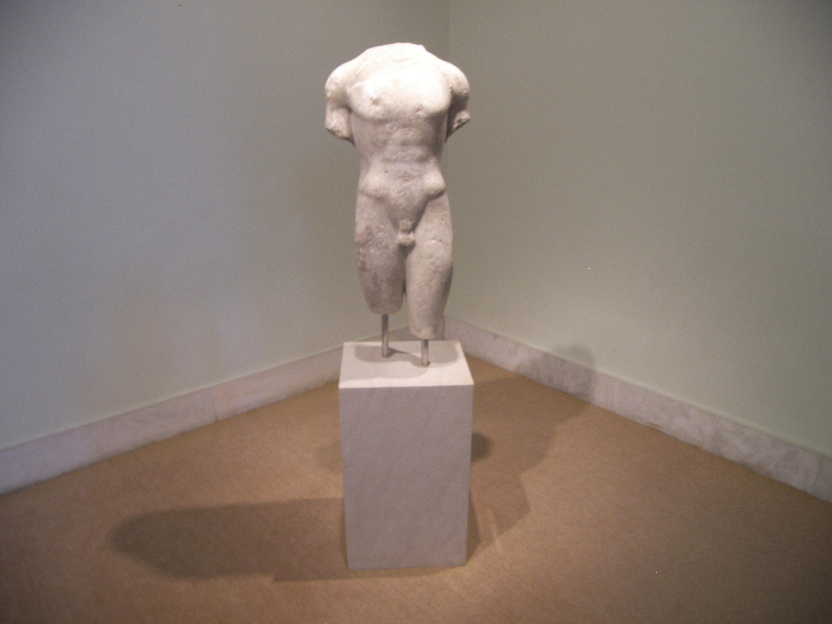 Archaic Torso of Apollo Marble_torso_of_Apollo_at_the_Corfu_Arch._Museum