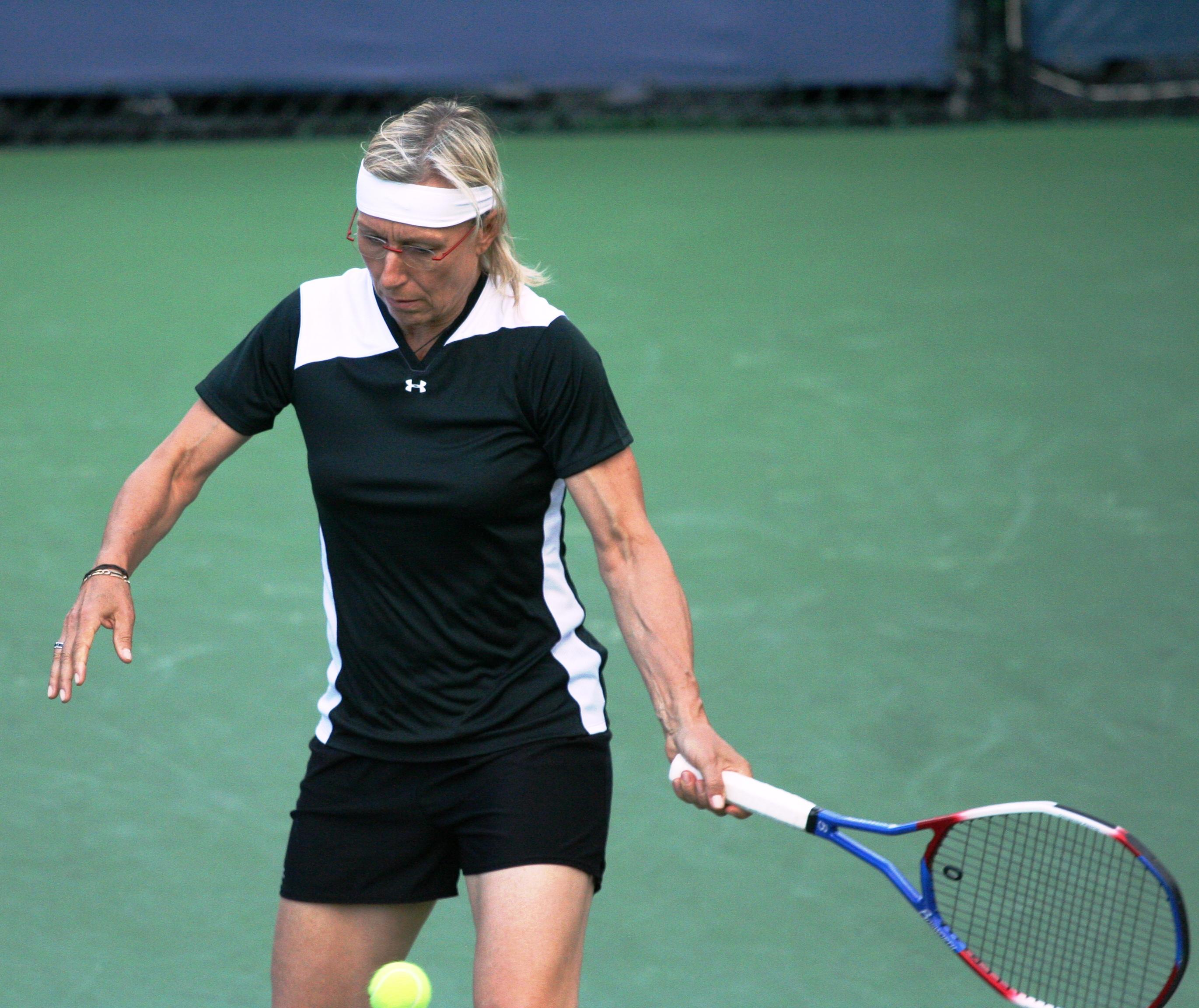File Martina Navrátilová at the 2010 US Open 02 Wikimedia