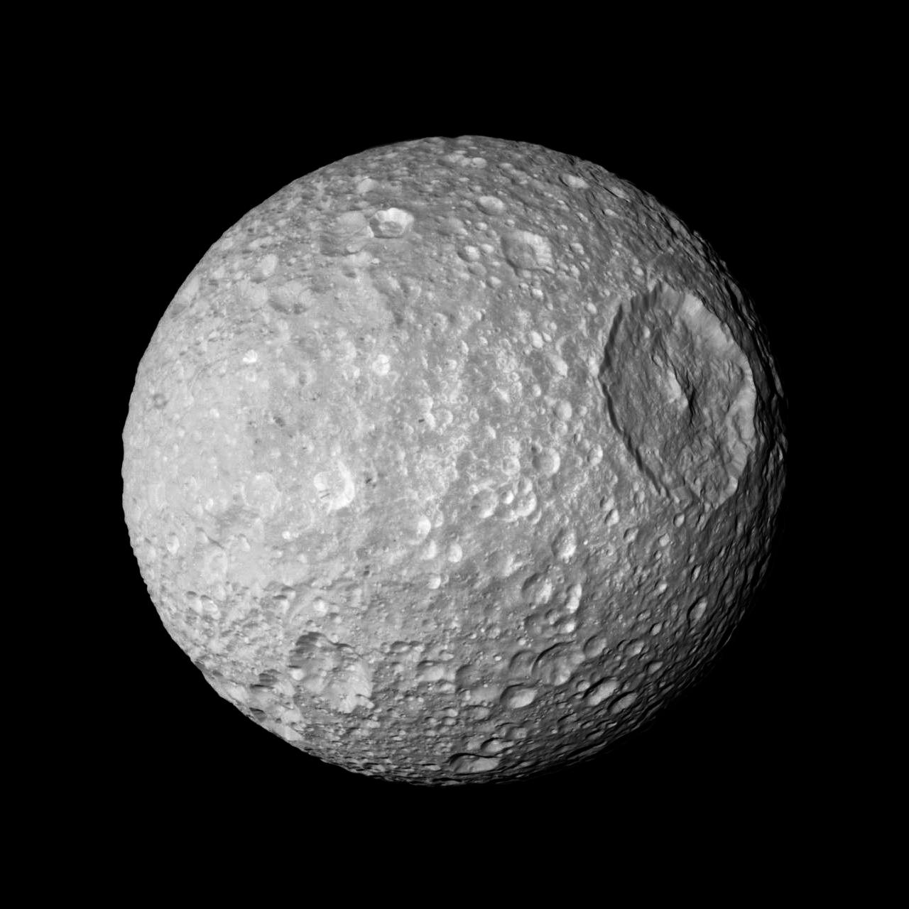 Mimas Cassini Division Pics About Space