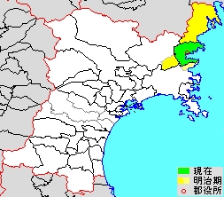 Motoyoshi District, Miyagi district of Japan