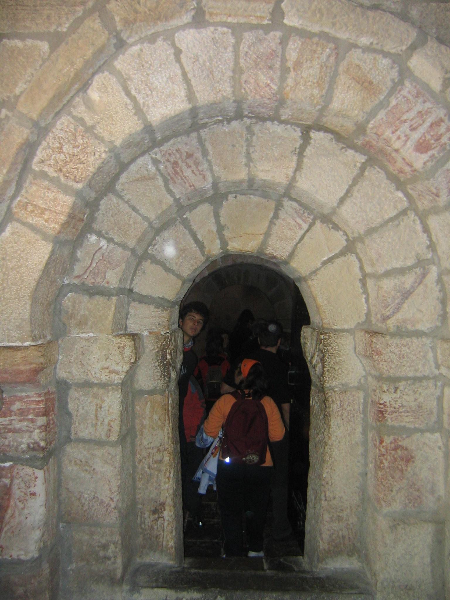 File monasterio de leyre puerta de entrada a la cripta - Puerta de entrada ...