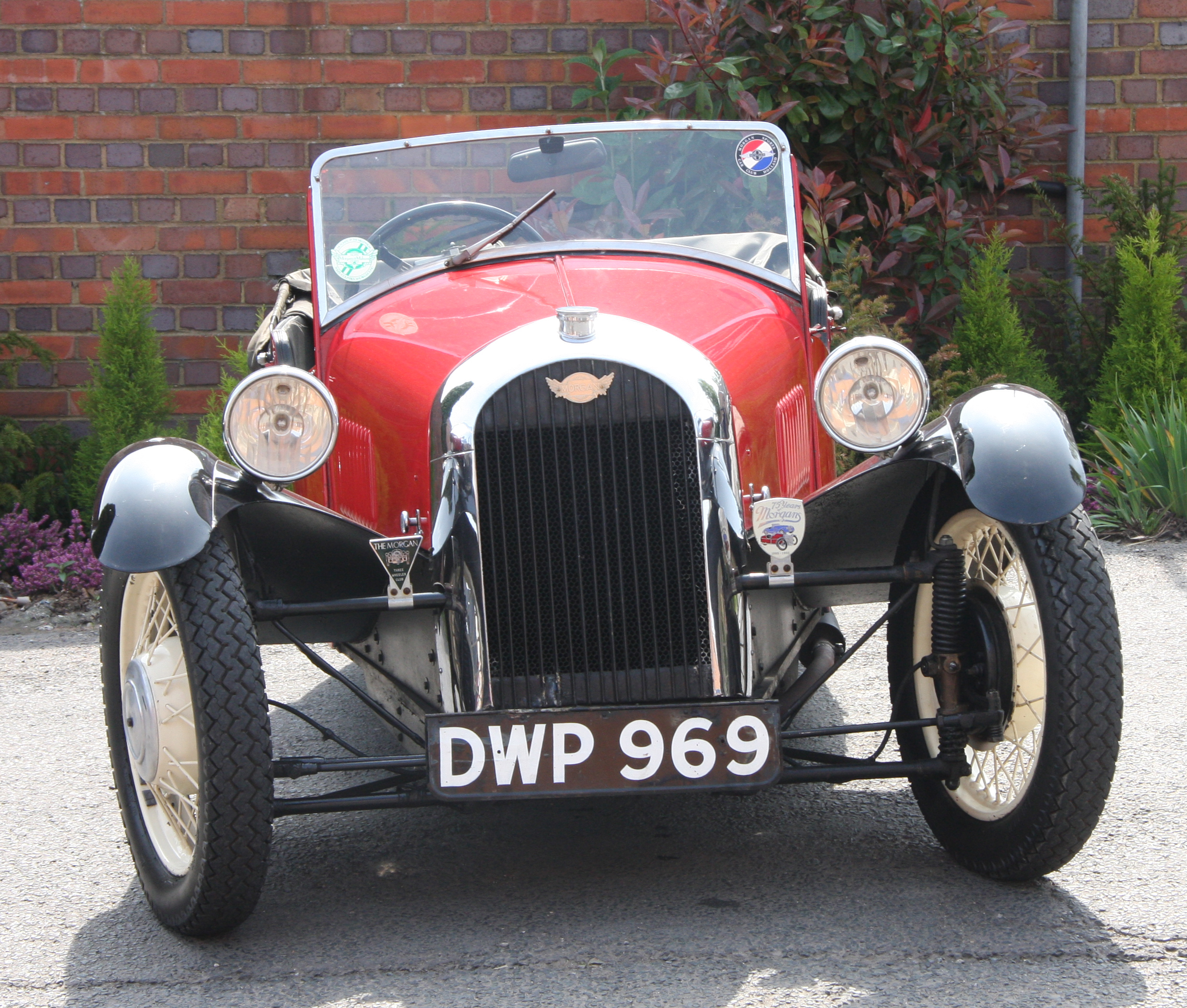 Eclectic Ephemera Classic Car Firm Morgan Building New Three