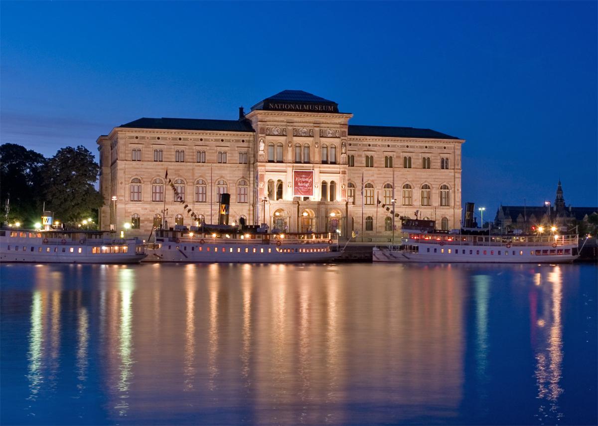 art heists National Museum, Stockholm, Sweden, 2007, Author: Abhijeet Vardhan, Source: Flickr