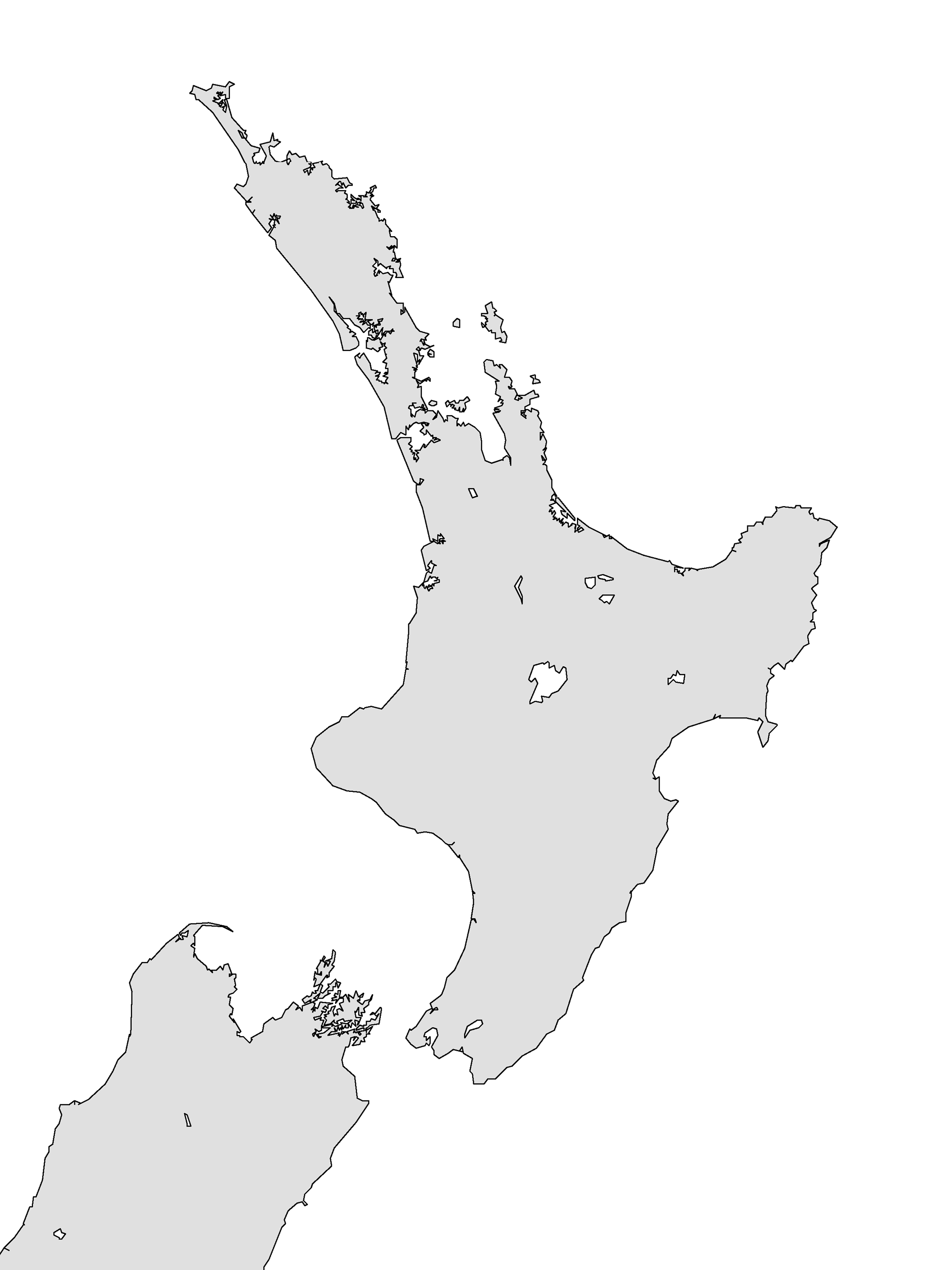 File New Zealand North Island Outline Png Wikimedia Commons