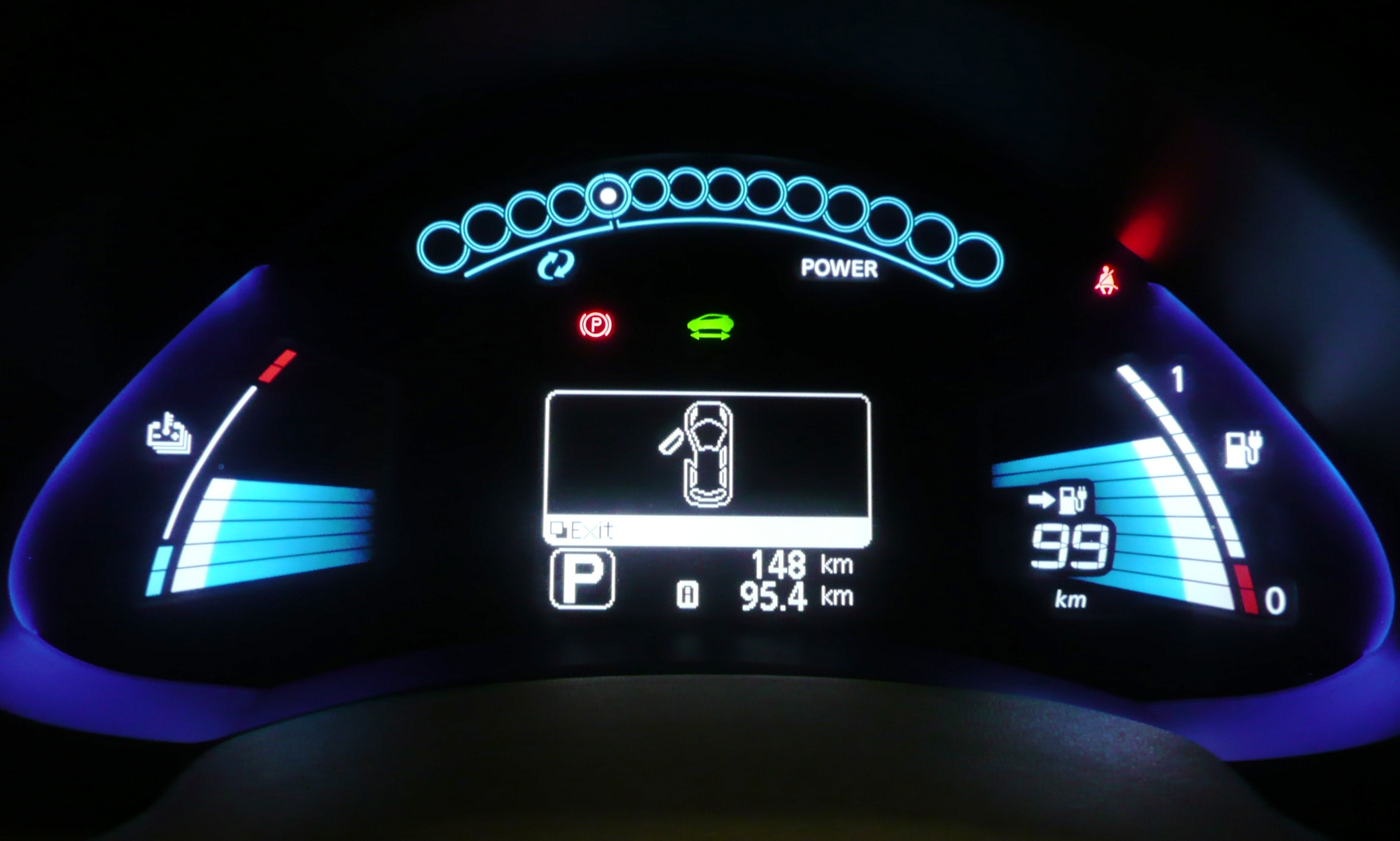 File Nissan Leaf Dashboard Display 2 Jpg Wikimedia Commons