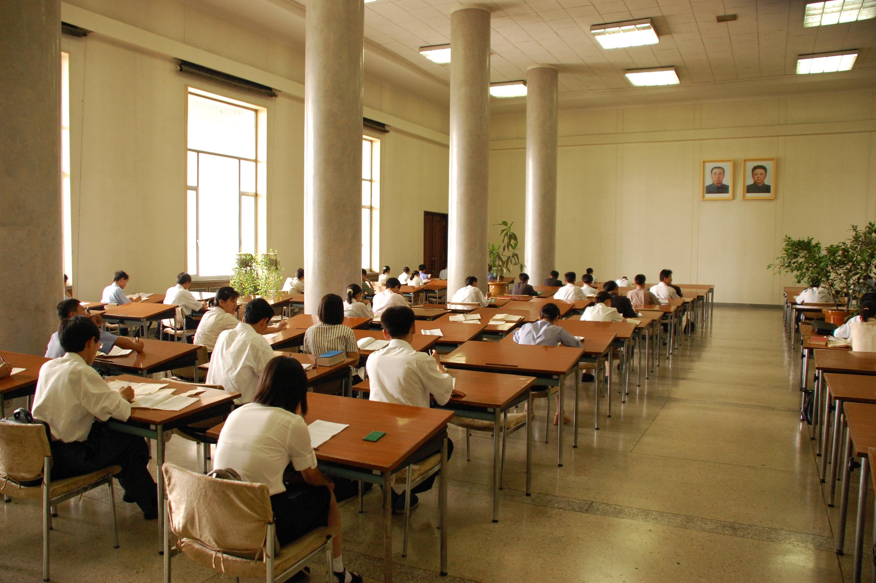 File North Korea Pyongyang Grand People S Study House 01 Jpg