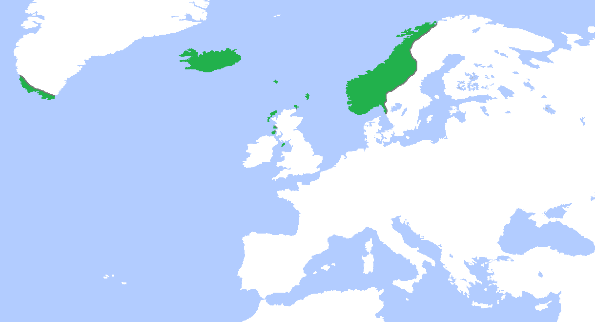 Where Is Norway Located Map - Where is norway