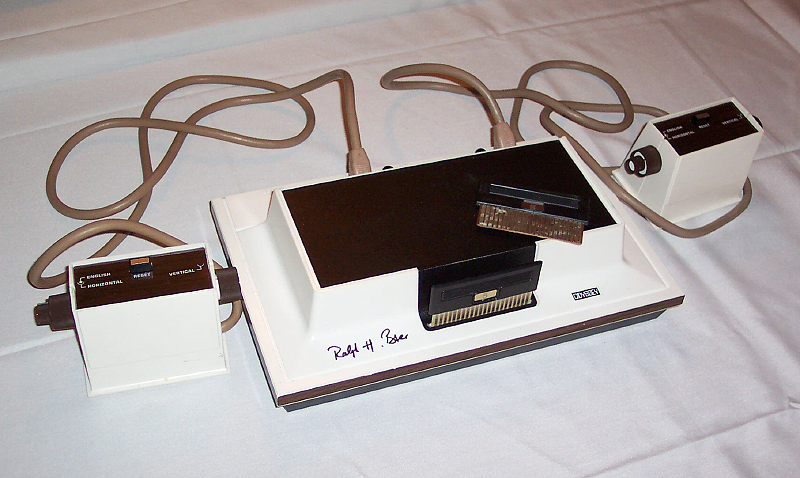 Magnavox Odyssey (photo : Electronic Entertainment Museum)