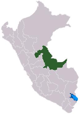 mapa de ucayali