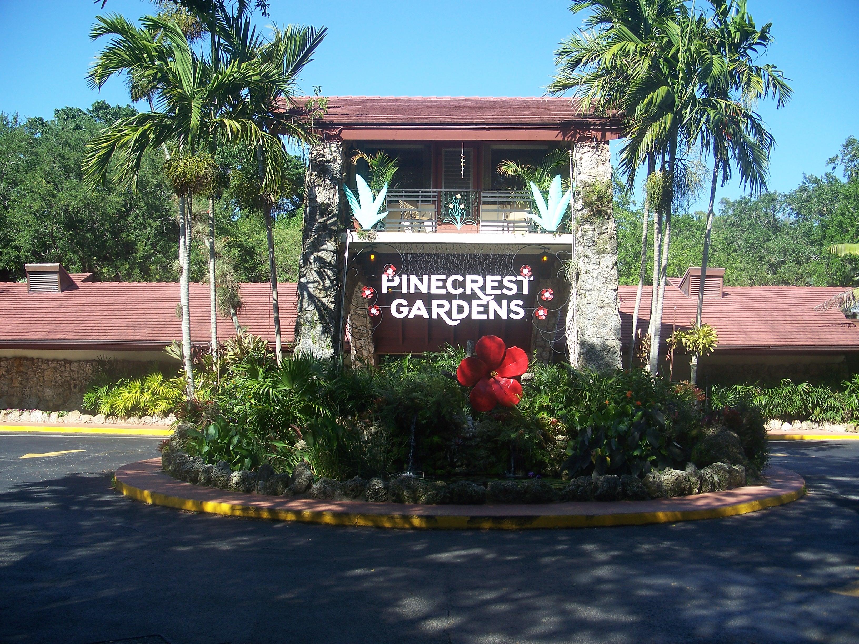 Park Miami Gardens Pinecrest Gardens fl Park