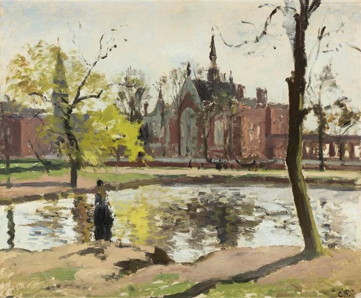 Archivo:Pissarro dulwich college london 1871.jpg