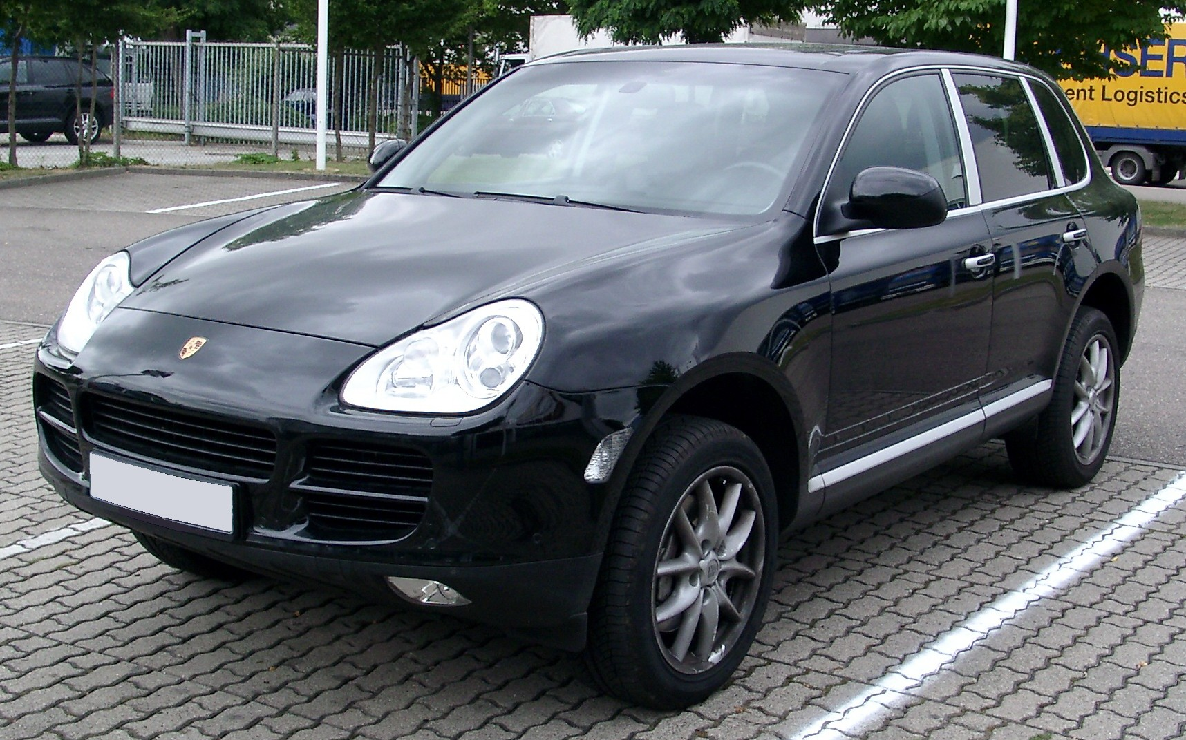 file porsche cayenne s front wikimedia commons. Black Bedroom Furniture Sets. Home Design Ideas