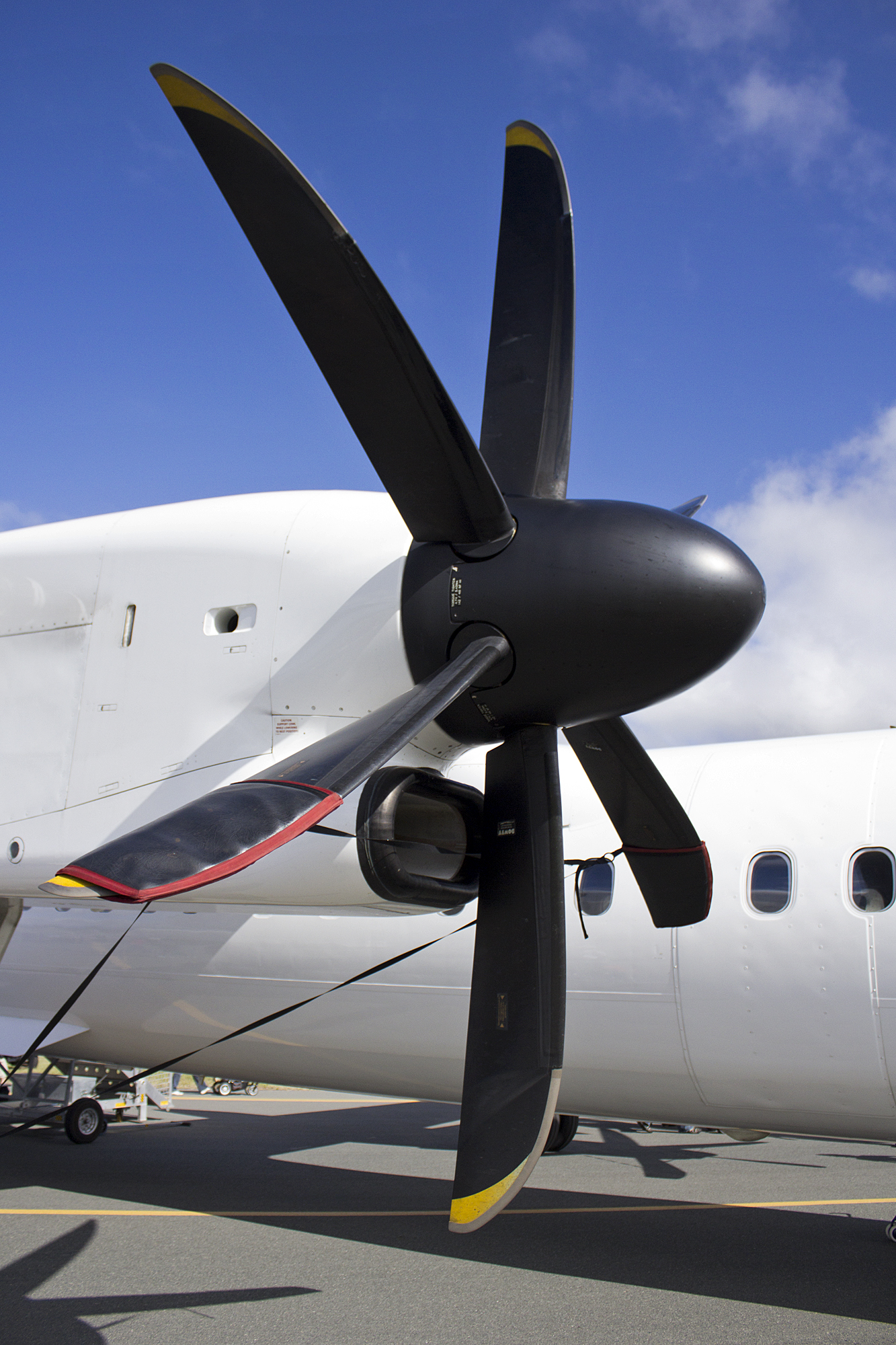 Turboprop de Dash8-Q400 - PW100