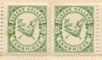 Queens' College stamps