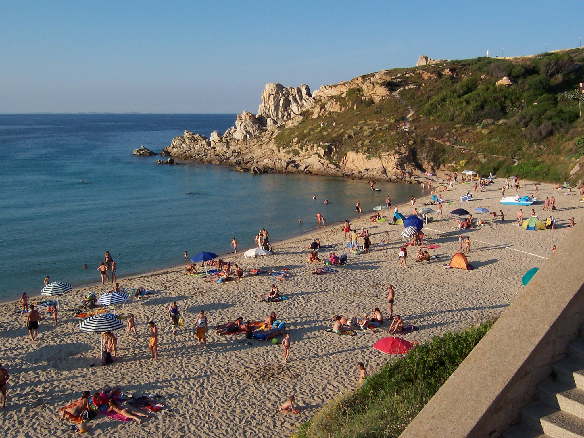 File rena bianca beach santa teresa for Santa teresa di gallura