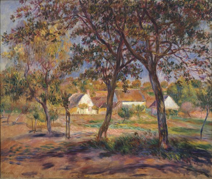 Renoir - Outskirts of Pont-Aven, 1888-90