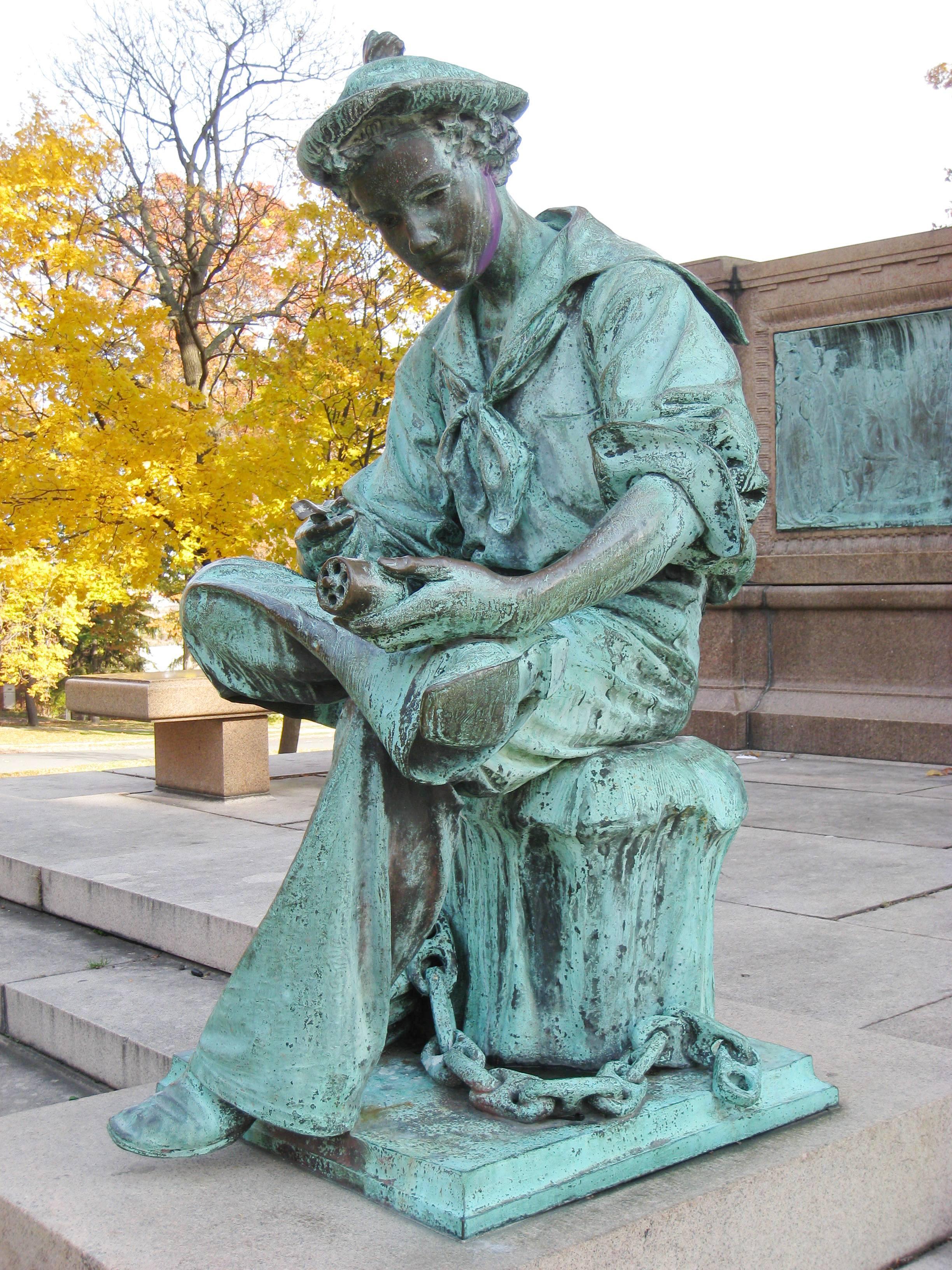 The Hartford At Work >> File:Samuel Colt Memorial, Hartford, CT - seated.JPG ...