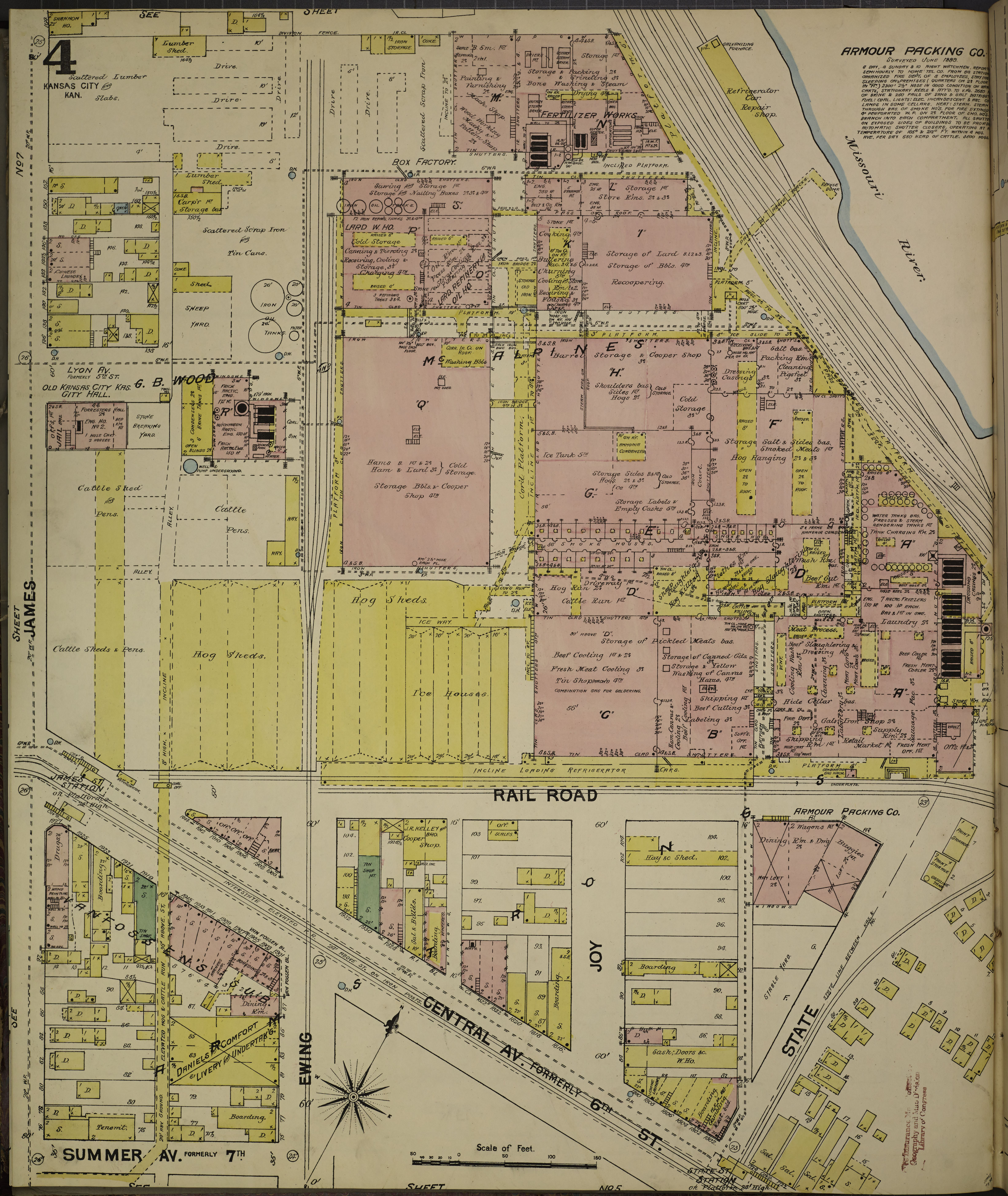 File:Sanborn Fire Insurance Map from Kansas City, Wyandotte County on maryland map, ohio s map, delaware map, utah s map,