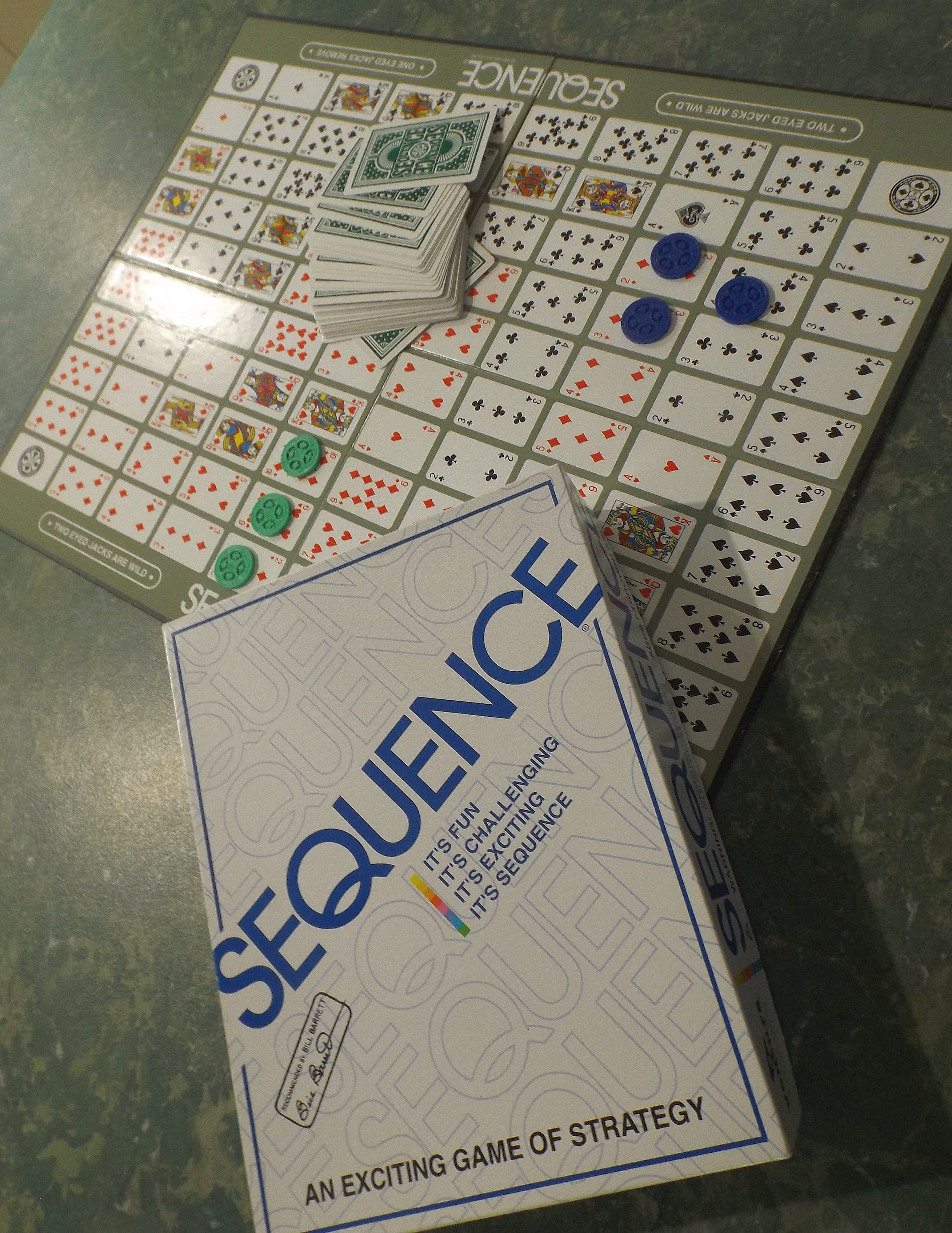 Picture of a game: Sequence