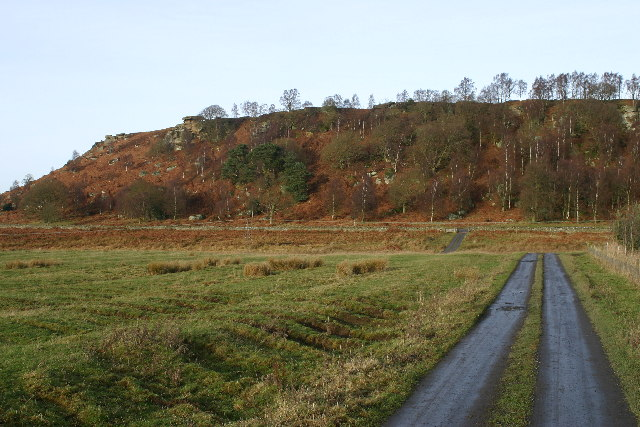 Shaftoe Crags from Ferney Chesters - geograph.org.uk - 100260