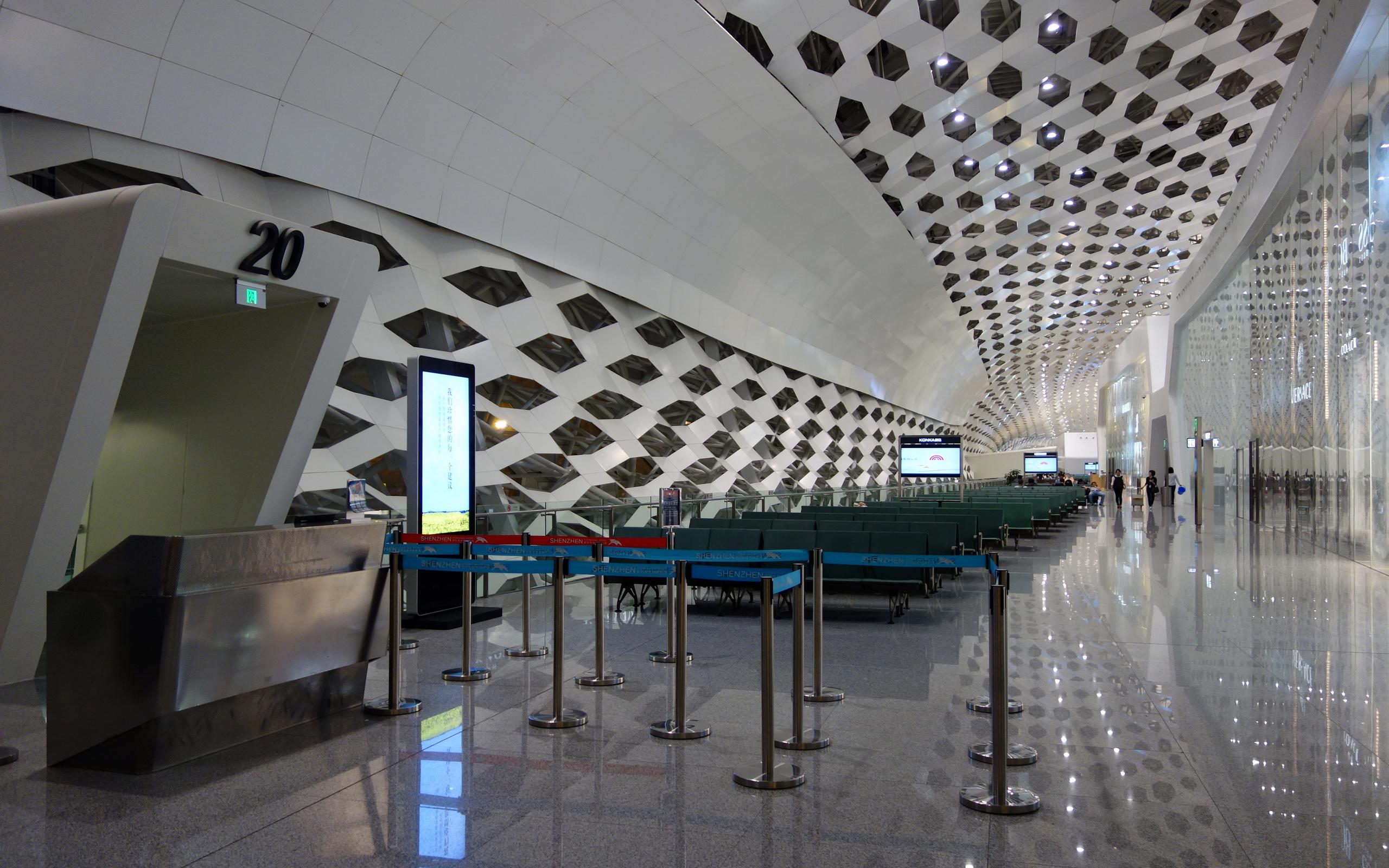 File shenzhen bao 39 an international airport new terminal for International decor gates