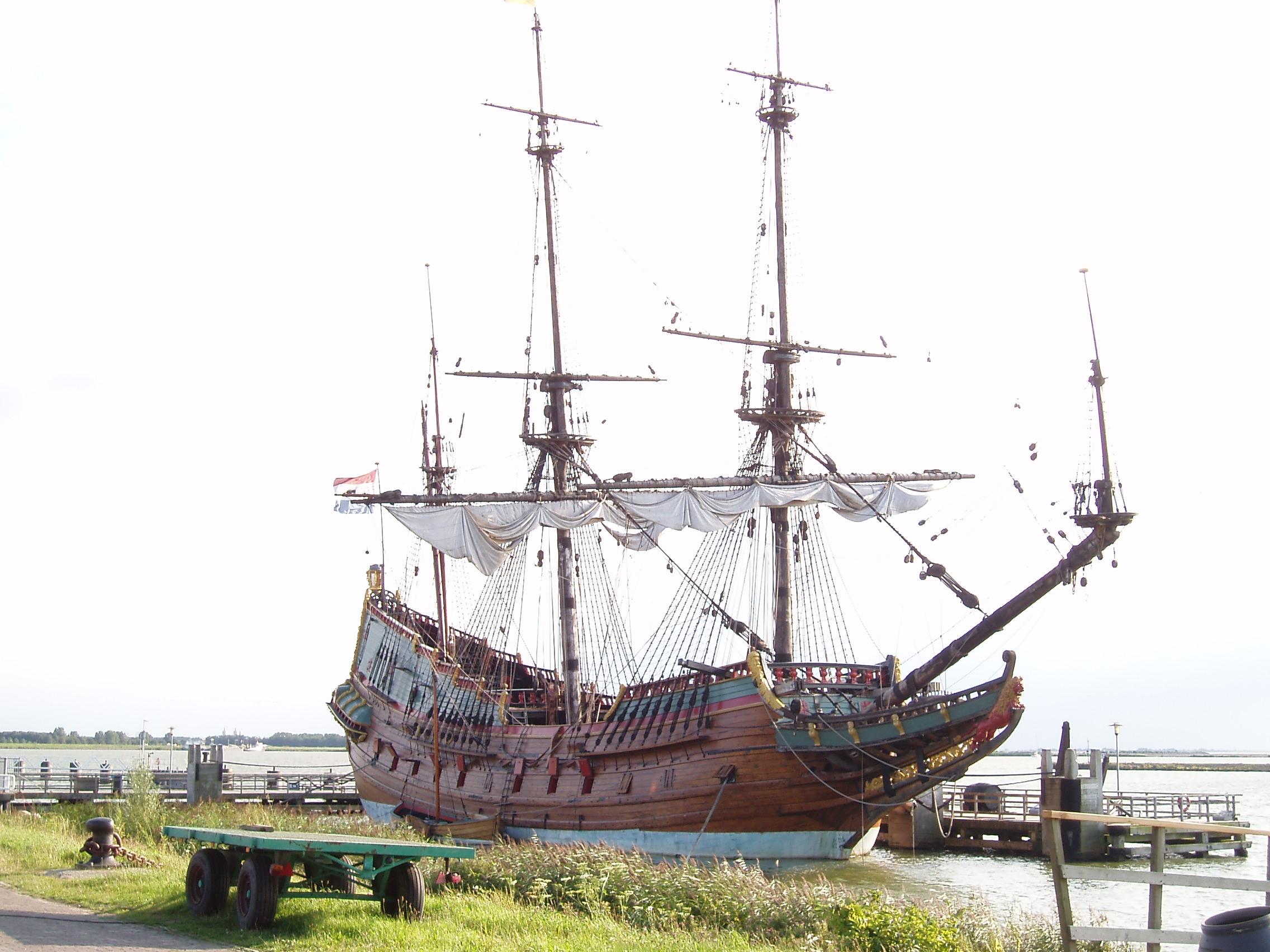 """VOC ship """"De Batavia""""."""