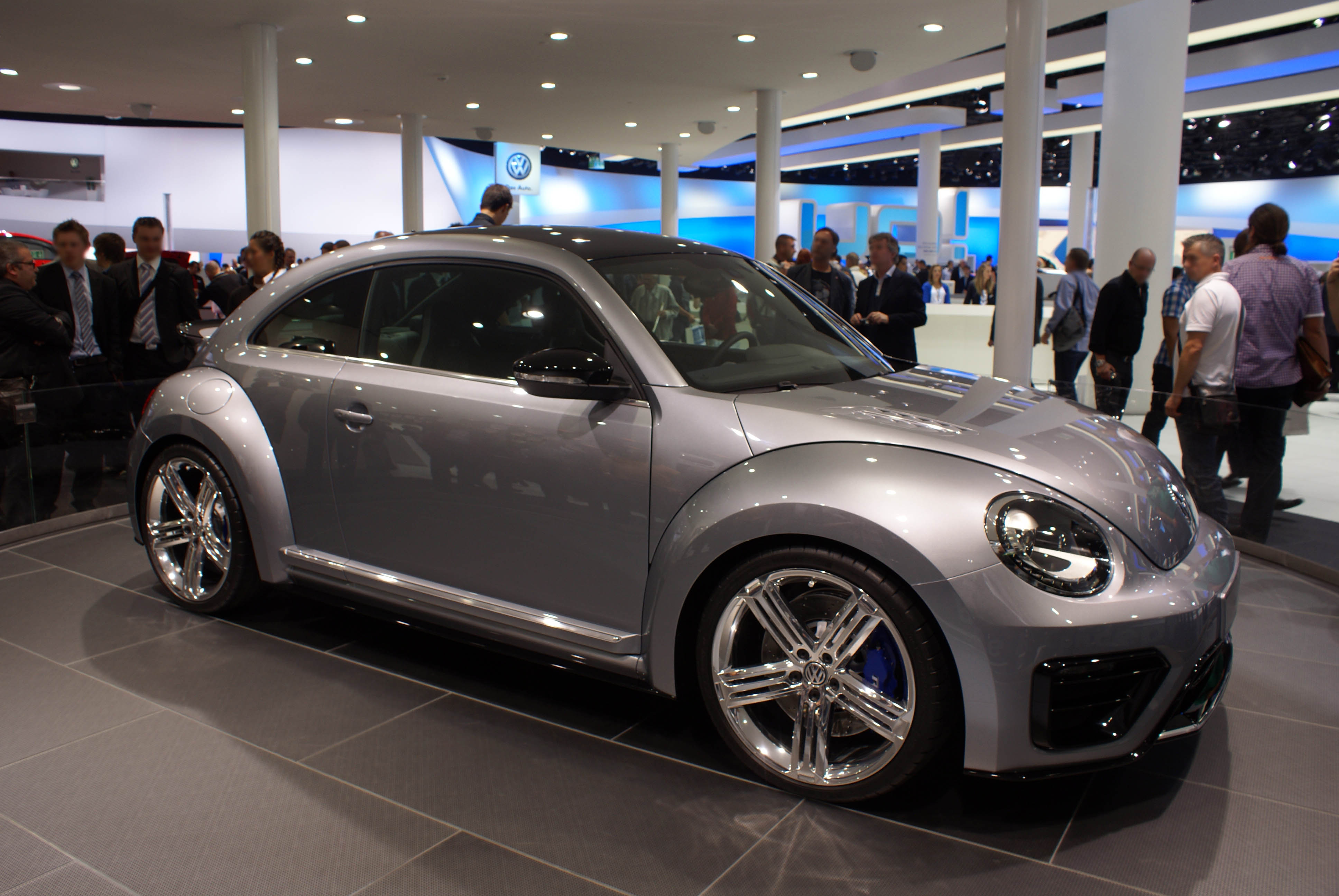 FileSilver VW Beetle R fr IAA 2011jpg  Wikimedia Commons