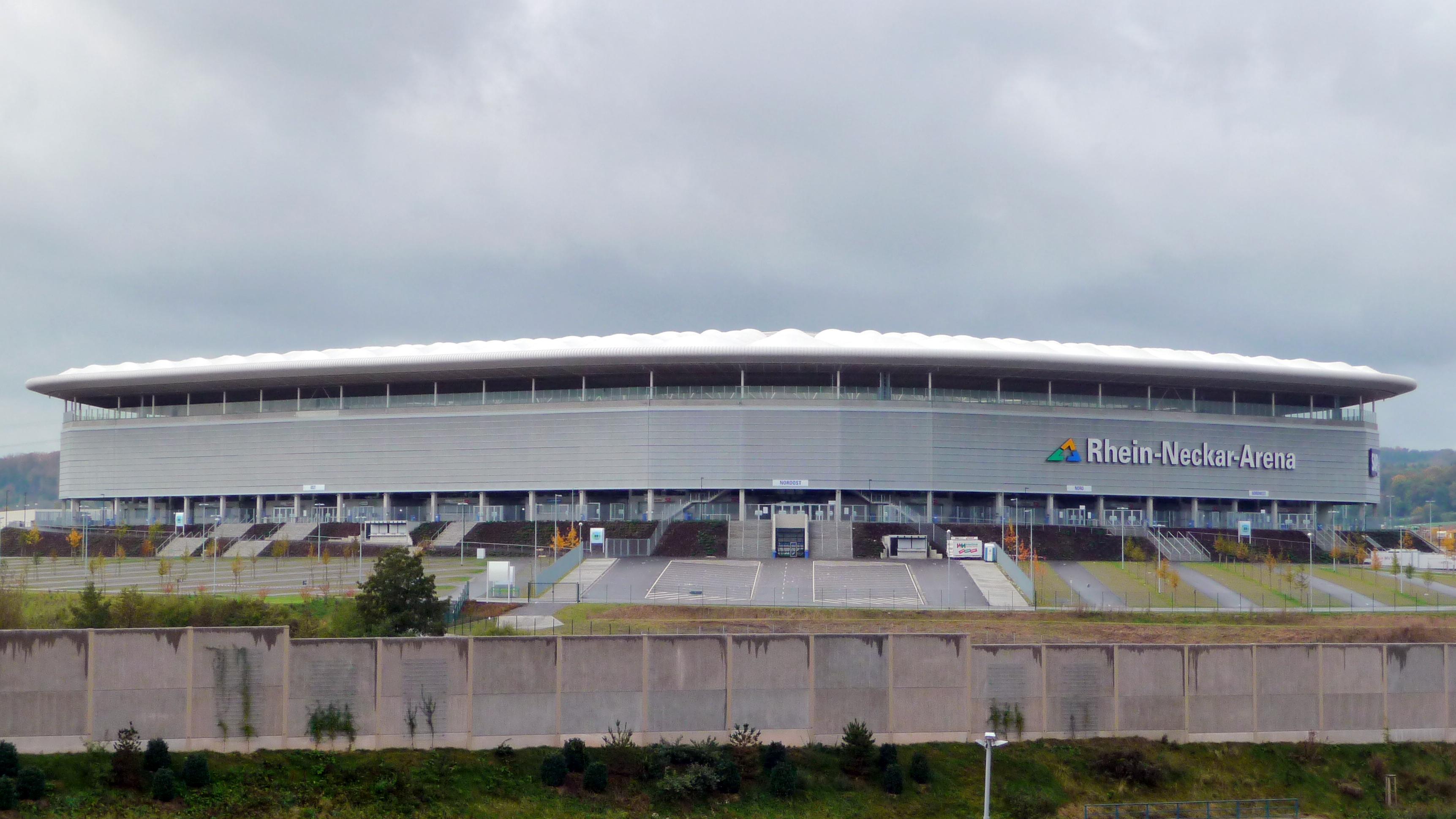 Die Rhein-Neckar-Arena in Sinsheim (2009)